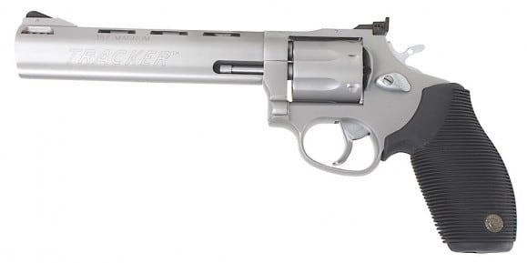 Taurus 627 Tracker .357 Magnum Revolver, 6.5 Matte Stainless Steel Ported 7rd - Taurus 2627069