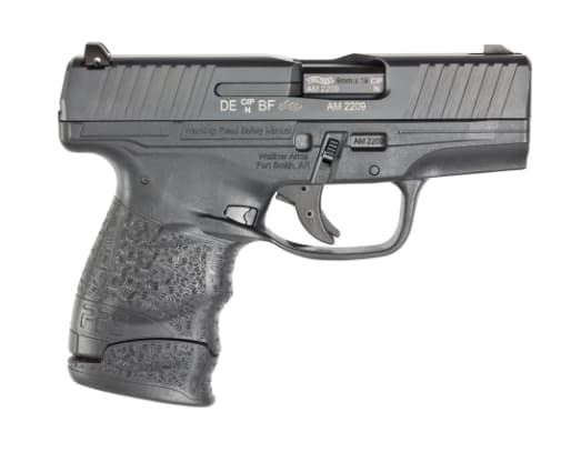 Walther Arms M2 9mm Pistol, 3.18 Black 6 & 7rd - 2805961