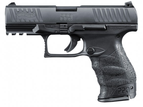 Walther Arms PPQ M2 40 S&W Pistol, 4in Barrel Black - 2796074