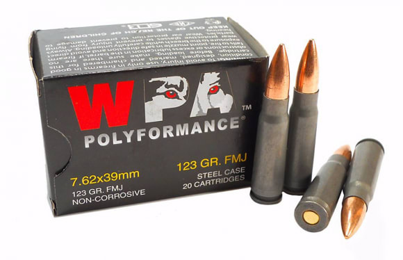 Wolf Polyformance 7.62x39 Ammo
