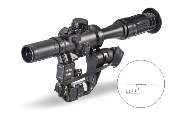Wolf Performance Optics 4x24 Optical Sight - WPAPO4X24