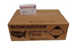 Winchester Ammo USA223K Best Value, Case, .223 Remington 55GR Full Metal Jacket, Non-Corrosive, Reloadable  - 1000 Round Case