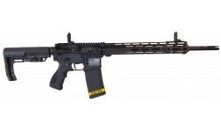 "Fostech Stryker Tech-15 Semi-Automatic AR-15 Rifle 16"" Barrel .223/5.56 30rd - Echo Sport Trigger Installed - Black - 8151BLK"
