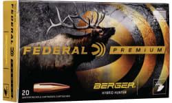 Federal GM224VLKBH1 224VAL 83 Berger - 20rd Box