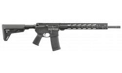 Ruger 8514 AR556 AR-15 Style Semi-Auto Rifle, MPR 223 18 Coll 30 Round Black SYN