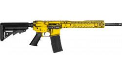 "Black Rain Ordnance Patriot Series Semi-Automatic AR-15 Rifle W/ Gadsden ""Don't Tread On Me"" Flag Cerakote - .223/5.56 30rd - BROPATRIOTGADSDEN"