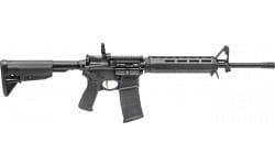 "Springfield ST916556BMA Saint 16"" Black AR-15, MID Length Gas System, 6-Position Stock, Bravo M-Lok Handguard"