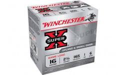 "Winchester Ammo XU166 Super-X Game Load 16GA 2.75"" 1oz #6 Shot - 25sh Box"