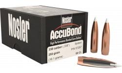 Nosler 57287 AccuBond .338 250 GR 338 Caliber 50 Per Box
