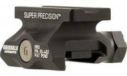 Geissele Automatics 05-402B Super Precision Optic Mount For Trijicon MRO Aluminum Black Hard Coat Anodized Finish