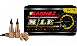 Barnes Bullets 30320 TSC-TX 300 Blackout .308 120 GR TAC-TX Flat Base 50 Box