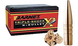 Barnes Bullets 30700 Rifle 50 BMG 50 Caliber .510 647 GR TSX BT 20 Box