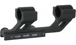 Rock River Arms AR0130T 1-Piece Base For Fits Most Rifle Barrels Cantilever Style Black Matte Finish