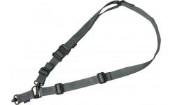 "Magpul MAG518-GRY MS4 Dual QD Sling GEN2 1.25"" wide Nylon Webbing Gray Adjustable"
