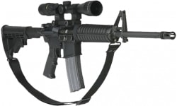 """Max Ops SPT4 Duty 2-Point 1.25"""" Tactical Sling Black"""