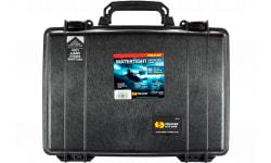 "Pelican 1470 Protector Laptop Case Medium 16.8"" x 12.23"" x 4.47"" Polymer Black"