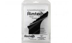 Aimtech ASM2 Scope Mount For Remington 870 12GA Dovetail Style Black Hard Coat Anodized Finish