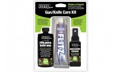 Flitz KG41501 Gun & Knife Care Kit 4 Pieces Polish/Cleaner/Wax/Cloth Universal