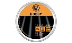 RWS 2317400 Hobby Sport Pellets .177 Pellet Lead 300