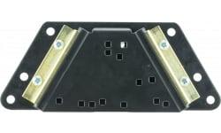 Lee 90251 Bench Plate Compatable w/Lee Presses Steel Black Powder Coat