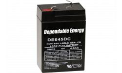 American Hunter DE30052 HR Rechargeable Battery 6V 4.5 AMP