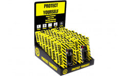 Eliminator Spray EKCH1416 Lipstick Case 16 Piece Pepper Spray Display Counter Top