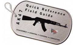 Real Avid AVAK47R AK47 Field Guide Booklet