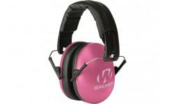 Walkers Game Ear GWPYWFM2PNK Youth & Women Folding Ear Muff 27 dB Pink