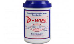 ETI WT-150 D-WIPE Disposable Towel 150CT 8/CS