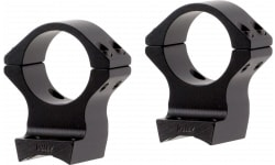 """Talley 950735 Rings and Base Set For Browning X-Bolt 1"""" Extra High Black Matte Finish"""