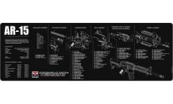 "Tekmat R36AR15 AR-15 Cleaning Mat AR-15 Parts Diagram 36"" x 12"" Black/White"