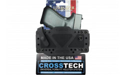 """Limbsaver 12506 CrossTech 1.5"""" Belted Holster with Secure Strap Black"""