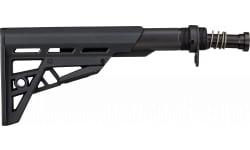 Advanced Technology B2102214 AR-15 TactLite Six Position Buttstock with Buffer Tube Assembly Rifle Polymer Black Hardcoat Anodized