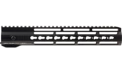 Hera 110506 IRS AR15 Rifle Aluminum Handguard with Keymod Black Hard Coat Anodized 12""