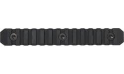 Seekins Precision 0010560083 M-Lok Picatinny Rail 13 Slot 6061-T6 Aluminum Black Hardcoat Anodized