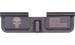 Spikes SED7005 Ejection Port Door AR-15 Laser-Engraved Punisher Steel Black