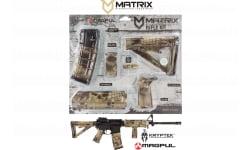 MDI MAGCOM47-HL Kryptek Highlander Magpul MOE Kit AR-15 Polymer - Commercial Buttstock