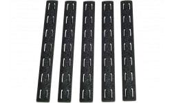 Bravo KMRRPBLK5 BCM KeyMod Rail Panel Kit AR-15 5.56mm Polymer Black