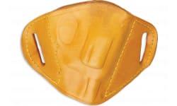 Bulldog MLTM Belt Slide Medium Automatic Handgun Holster Right Hand Leather Tan