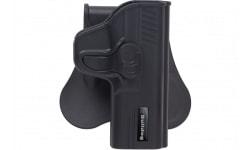 Bulldog RR-G19 Rapid Release Holster Glock 19/23/32 Polymer Black