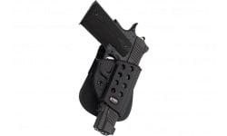 Fobus GL2E2BH Evolution Belt Glock 17/19/22/23/26/27/33/34/35 Plastic Black