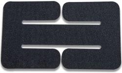 Vertx VTX5135 BAP Belt Adapter Panel Velcro One-Wrap Black
