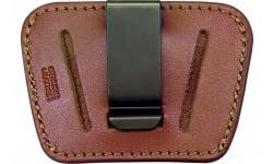 Peace Keeper 036 Belt Slide Inside/Outside Pants Small/Medium Frame Auto Leather Tan