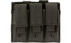 NCStar CVP3P2932B Triple Mag Pouch Black