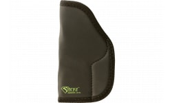 """Sticky Holsters LG-6L Full/Large Autos 05 Springfield XD 4.5"""" Barrel Latex Free Synthetic Rubber Black w/Green Logo"""