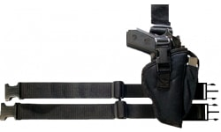Bulldog WTAC8R Tactical Holster Large Black Knit Fabric