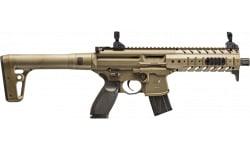Sig Sauer Airguns MCX Scope Air Rifle Semi-Auto .177 Pellet Black/FDE