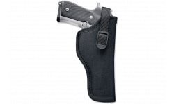 """Uncle Mikes 81081 Hip Holster 5.5-6"""" Double and Single Action Revolver Nylon Black"""
