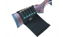 Uncle Mikes 8849 SHG Butt Stockshell Holder w/flap 8849-2 49-2 Black Nylon
