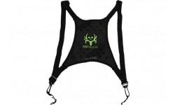 Butler Creek 16126 Deluxe Bino Caddy Harness Black w/Bone Collector Logo